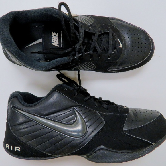 abab9e2ab79 ... hot nike air baseline low mens basketball shoes black 380a7 687ee